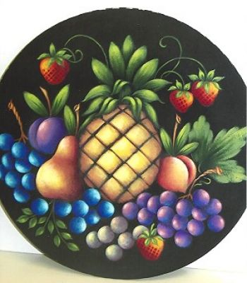 FRUIT IN THE ROUND  PATTERN PACKET