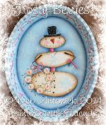 DEB ANTONICK  FROSTY BERRIES  PATTERN PACKETS