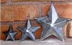 ORNAMENT CLASSIC STARFOLK ART TIN