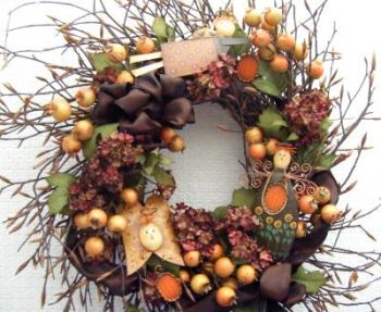 JANE ALLEN  HARVEST WREATH  PATTERN PACKET