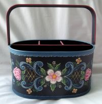 JUDY DIEPHOUSE   ROSEMALING BUCKET   PATTERN PACKET