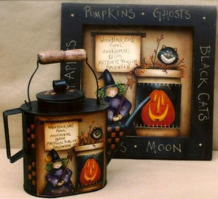 MAXINE THOMAS  HALLOWEEN FUN  PATTERN PACKET