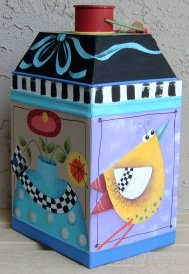 Della and Company - Folk Art Tin
