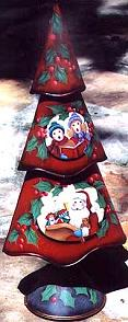 SANTA AND CAROLERS  PATTERN PACKET