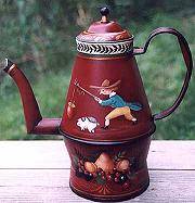 OMPIR STYLE COFFEE POT  PATTERN PACKET