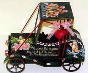 GINGERBREAD ROADSTER  ROSEMARY WEST, CDA  PATTERN PACKET