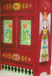 ANGEL CABINET  ROSEMARY WEST, CDA  PATTERN PACKET