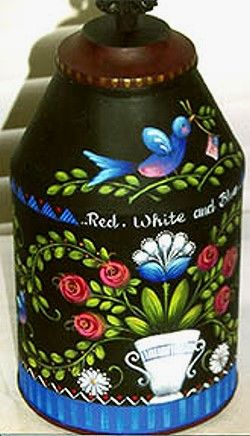 RED, WHITE AND BLUE  ROSEMARY WEST, CDA  PATTERN PACKET