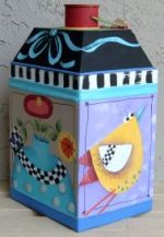 COLONIAL STORAGE TIN  PATTERN PACKET SHARA REINER, CDA