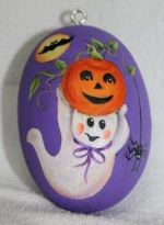 "SWEET NOTHINGS PATTERN PACKETS   GOURD ORNAMENT ""SPOOKY NIGHT"""