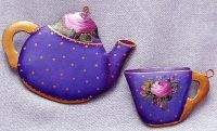 TRUDY BEARD, CDA  TRUDY'S TEA PARTY  PATTERN PACKET