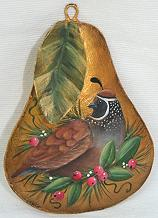 WILLIAMSBURG COLLECTION I  GOLDEN PEAR WITH PARTRIDGE  PATTERN PACKET