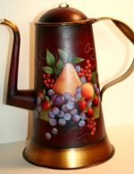 WILLIAMSBURG COLLECTION II  FRUIT ON STURBRIDGE COFFEE POT  PATTERN PACKET