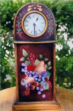 WILLIAMSBURG COLLECTION II  FRUIT ON MANTEL CLOCK  PATTERN PACKET