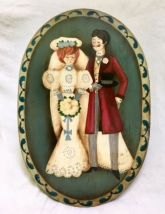 VICTORIAN WEDDING COUPLE  PATTERN PACKET